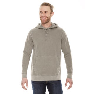 Unisex Big and Tall Mocha French Terry Hoodie