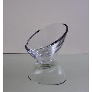 4-inch Clear Glass Candle Holder Vase