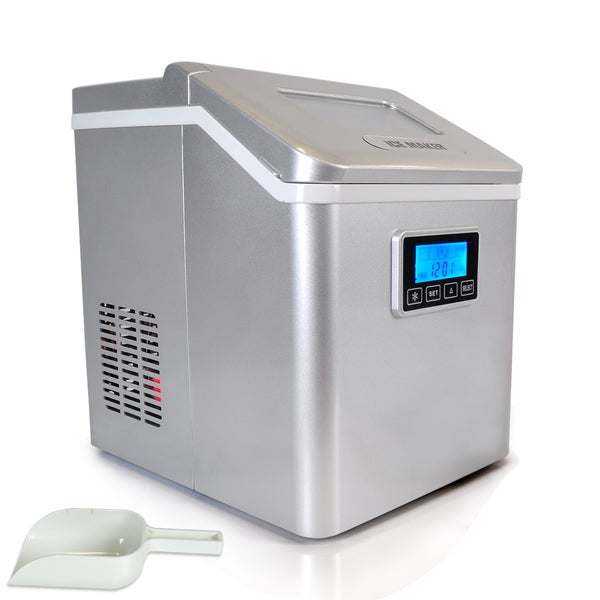 Countertop Electric Ice Cream Maker : PICEM70-Digital-Ice-Maker-Electric-Countertop-Ice-Cube-Making-Machine ...