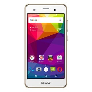 BLU Dash X2 D110U Unlocked GSM Phone - Gold