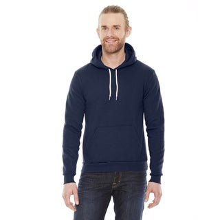 Unisex Big and Tall Flex Fleece Drop Shoulder Pullover Navy Hoodie
