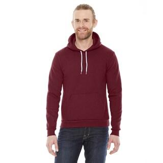 Unisex Big and Tall Flex Fleece Drop Shoulder Pullover Cranberry Hoodie