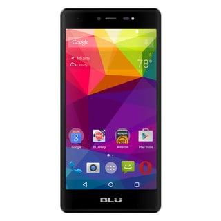 BLU Life One X L0070UU 16GB Unlocked GSM 4G LTE Octa-Core Android Phone w/ 13 MP Camera - Black