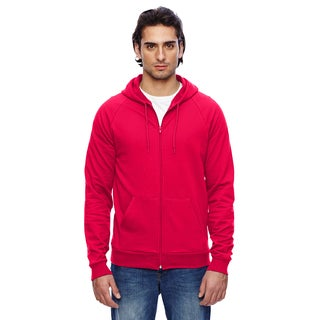 Unisex Big and Tall California Fleece Zip Red Hoodie