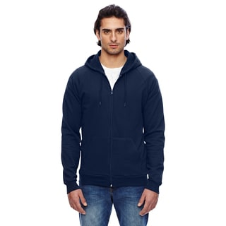 Unisex Big and Tall California Fleece Zip Navy Hoodie