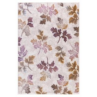 Persian Rugs Modern Falling Leaves with Fall Colors Area Rug (7'11 x 9'10)