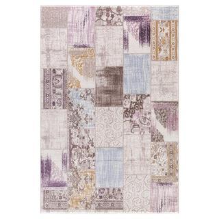 Persian Rugs Contemporary Rectangle Multicolored Semi-Traditional Area Rug (7'11 x 9'10)