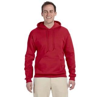 Men's Big and Tall 50/50 Nublend Fleece True Red Pullover Hood