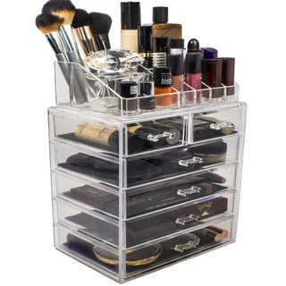 Sorbus Acrylic Makeup Organizer with 6 Drawers