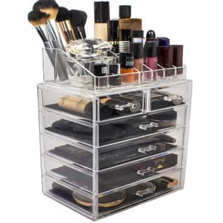 Sorbus Acrylic Makeup Organizer with 6 Drawers|https://ak1.ostkcdn.com/images/products/12396619/P19217649.jpg?impolicy=medium