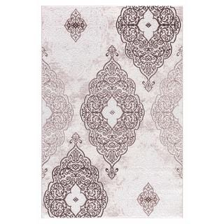 Persian Rugs Modern Oriental Multicolor with Beige Area Rug (7'11 x 9'10)