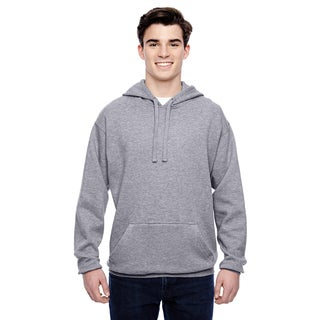 Tailgate Men's Big and Tall Fleece Oxford Pullover Hood