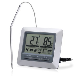 Instant Read Barbecue Grill Thermometer & Large LCD-display Digital Timer for Indoor/Outdoor Turkey/Steak Grilling|https://ak1.ostkcdn.com/images/products/12396674/P19217637.jpg?_ostk_perf_=percv&impolicy=medium