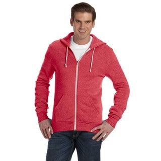 Rocky Men's Big and Tall Zip Eco True Red Hoodie