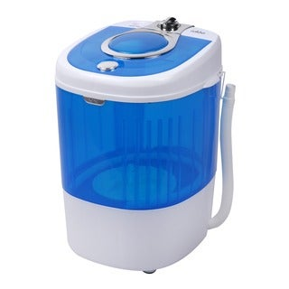 HCWM01WE 5.5 lb. Capacity Single-tub Semi-automatic Mini Portable Washing Machine