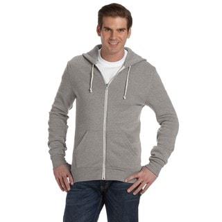 Rocky Men's Big and Tall Zip Eco Grey Hoodie