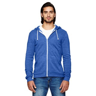 Rocky Men's Big and Tall Zip Ec Tr Pacific Blue Hoodie