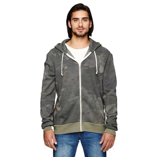 Rocky Men's Big and Tall Zip Camo Dreamstate Hoodie