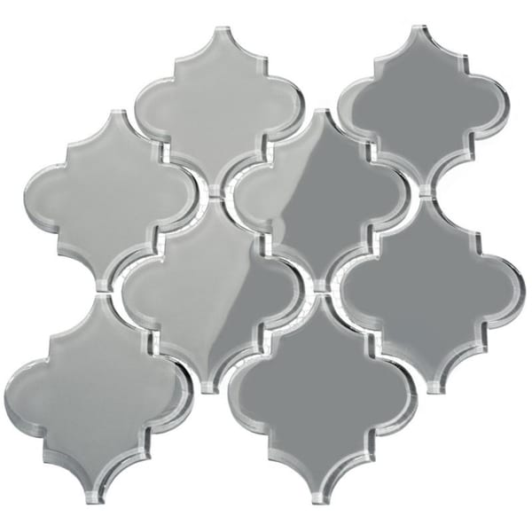 Arabesque True Gray Tiles (7 Square Feet) (11 Sheets). Opens flyout.