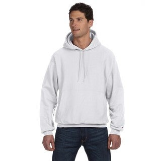 Reverse Weave Men's Silver Grey Big and Tall Pullover Hood