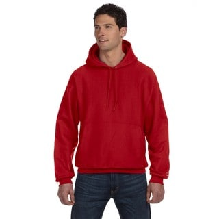 Reverse Weave Men's Scarlet Big and Tall Pullover Hood