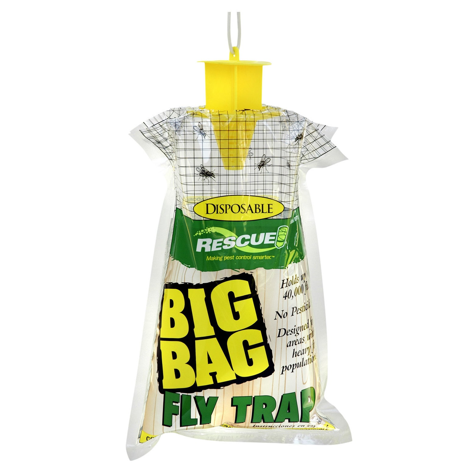 Rescue Bftd-DB12 Big Bag Fly Trap (Insect & Rodent Traps)...