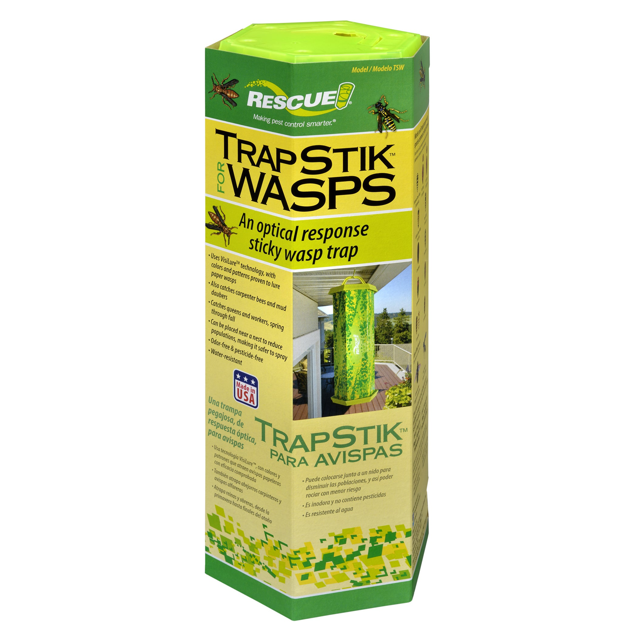 Rescue TSW-BB6 TrapStik For Wasps (Yard & Garden Pest Con...