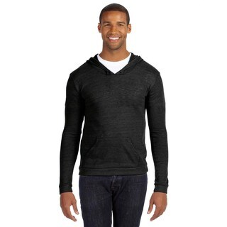 Marathon Men's Big and Tall Pullover Eco Black Hoodie