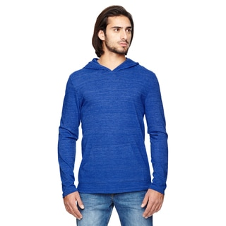 Marathon Men's Big and Tall Pullover Ec Tr Pacific Blue Hoodie