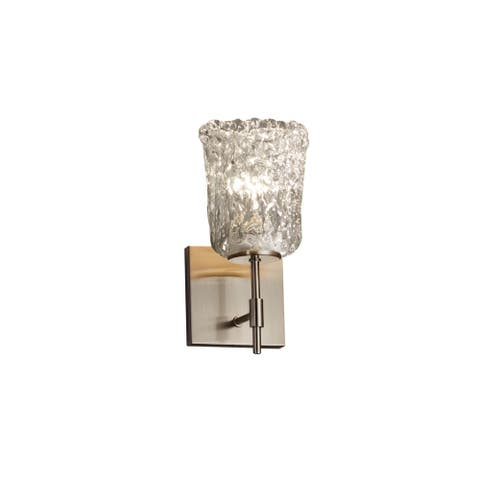 Silver Orchid Kellerman 1-light Brushed Nickel Wall Sconce