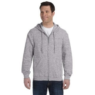 50/50 Men's Big and Tall Full-Zip Sport Grey Hooded Jacket