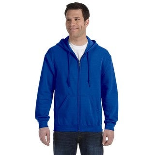 50/50 Men's Big and Tall Full-Zip Royal Hooded Jacket