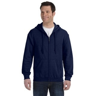 50/50 Men's Big and Tall Full-Zip Navy Hooded Jacket