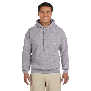 Men's Big and Tall 50/50 Sport Grey Hooded Jacket