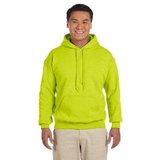 Men's Big and Tall Safety Green 50/50 Hood