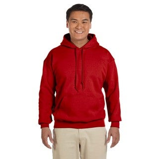 Men's Big and Tall Red 50/50 Hood