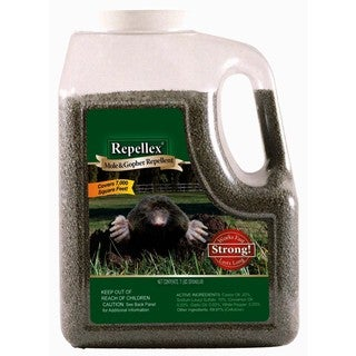 Repellex 10530 7-pounds Repellex Mole, Vole & Gopher Repellent
