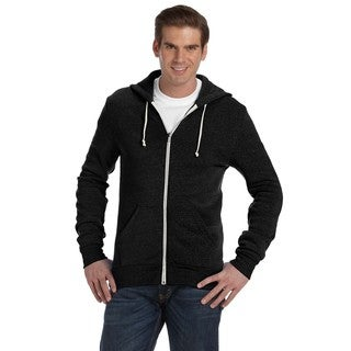 Rocky Men's Eco True Black Zip Hoodie