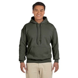 Men's Big and Tall Military Green 50/50 Hood
