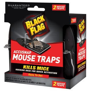 Black Flag 11050 Accusnap Mouse Traps 2-count