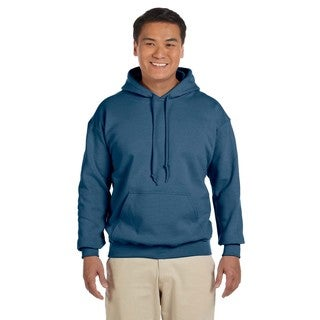 Men's Big and Tall Indigo Blue 50/50 Hood