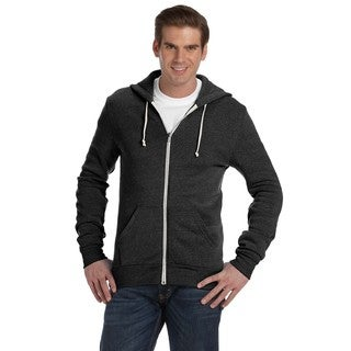 Rocky Men's Eco Black Zip Hoodie