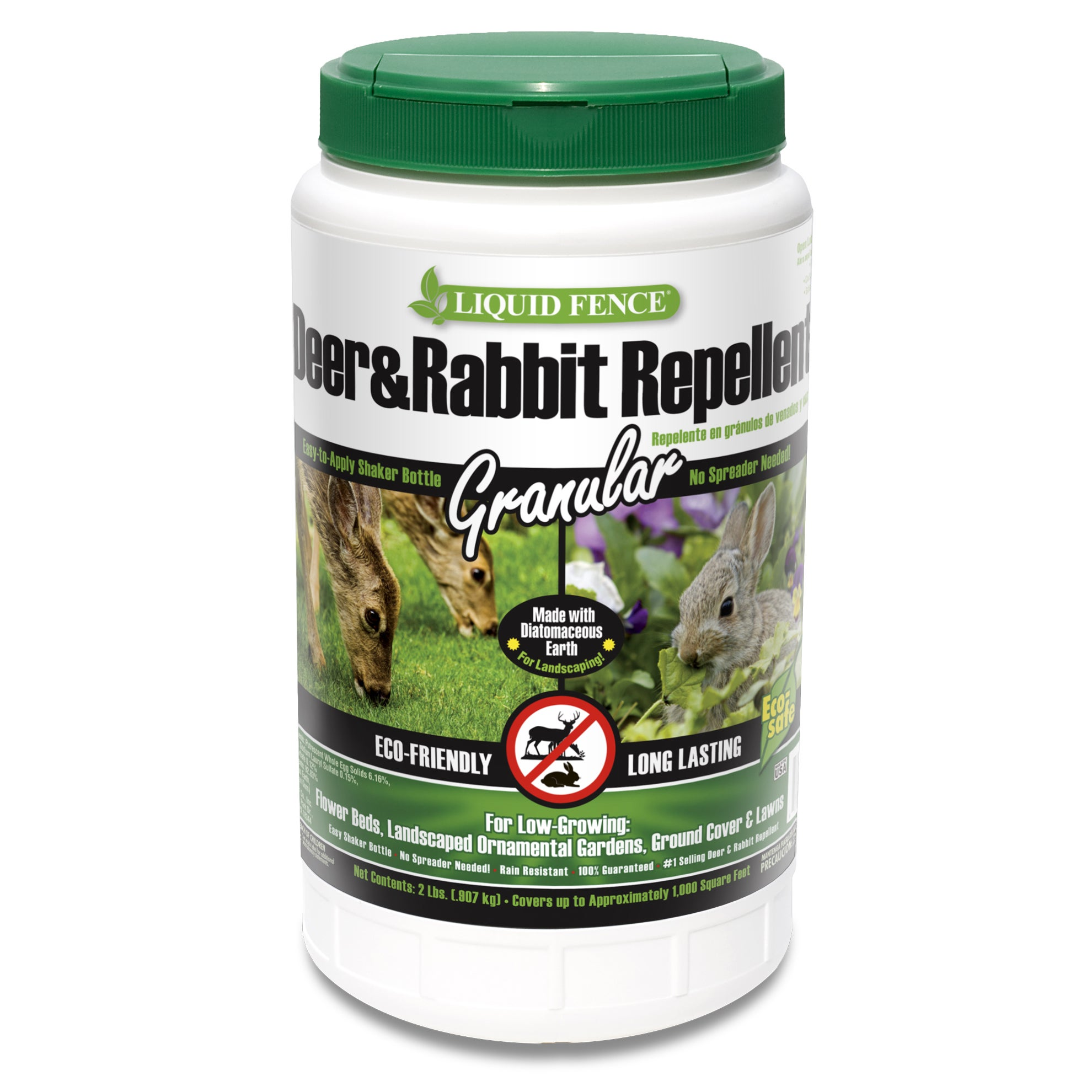 Spectrum Liquid Fence 70266 2-pound Deer & Rabbit Repelle...