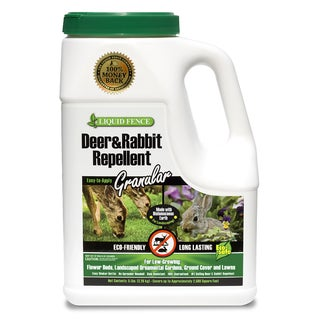 Liquid Fence 72654 5-pound Deer & Rabbit Repellent Granules