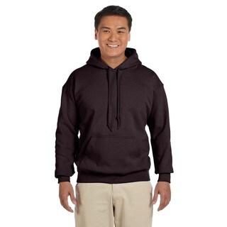 Men's Big and Tall Dark Chocolate 50/50 Hood