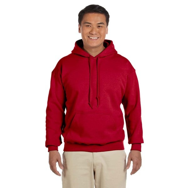 Mens Big and Tall Cherry Red 50/50 Hood