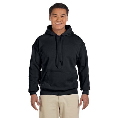 Men's Big and Tall Black 50/50 Hood