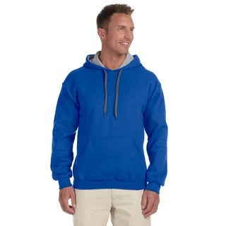 Men's Big and Tall Royal/Sportort Grey 50/50 Contrast Hood