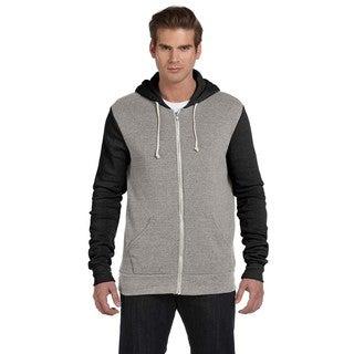 Rocky Men's Eco Grey/Eco Tru Black Colorblocked Full-Zip Hoodie (3 options available)