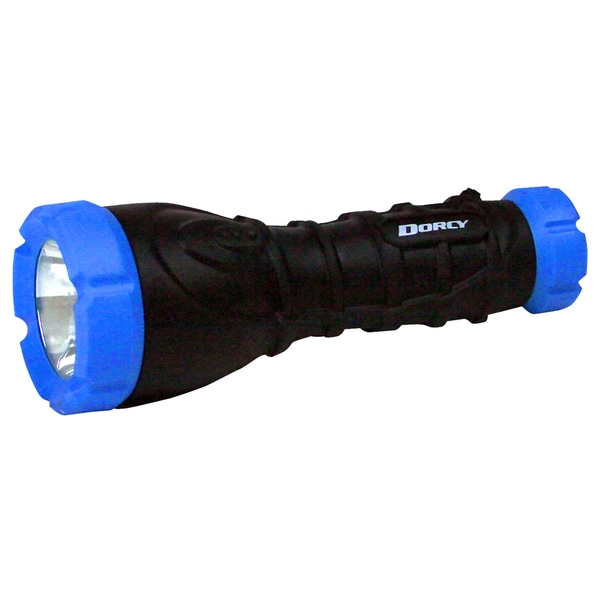 Dorcy 80 lumens Flashlight LED AA Black/Yellow